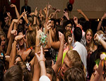Prom DJ and Students Going Crazy