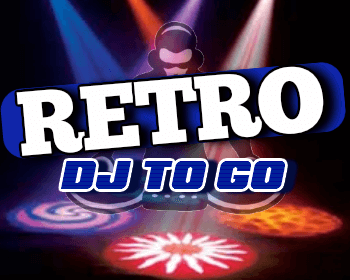 Retro DJ to Go Logo | Houston DJ Service | Wedding DJ